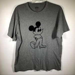 Yu Nagaba Mickey Mouse Disney Uniqlo T-Shirt Mens